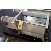 "Used 12"" x 23"" Stainless Steel Rotary Feeder"