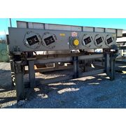 "Used 60"" Wide x 14' L Stainless steel Eriez Vibratory Conveyor, Model HVF60"