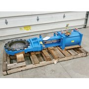 "Newcon 16"" Knife Gate Valve, Unused!"