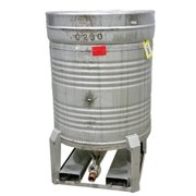 Used 180 Gallon IFF Stainless Steel Portable Tank