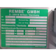 Used REMBE GmbH Q-Rohr Flameless Explosion Vent - Type ECO-Q-28
