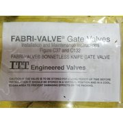 "Unused 2""Ø Stainless Steel Fabri-valve - Figure C37"