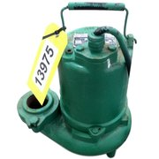 Used 3/4HP Hydromatic Submersible Sump Effluent Sewage Pump Model SK75M4