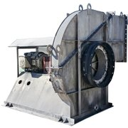 "8,800 CFM @ 50"" SP Barron Flo-Tech Hi Temp pressure 100 HP Stainless Blower Fan"