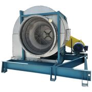 "Used 48,900 CFM @ 7.5"" SP Stainless Twin City Recirculation Airfoil Fan 542 BAF"