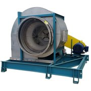 "Used 52,400 CFM @ 6"" SP Stainless Airfoil Twin City Supply Fan & Blower 542 BAF"