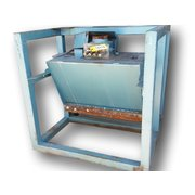 Used Grate Magnet with 7 cu/ft Hopper