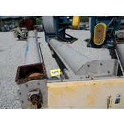 "Used Goodman 16"" Dia X 18' Long Inclined Industrial Screw Auger Conveyor"