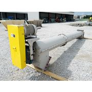 "Used Goodman 16"" Diameter X 18' L Inclined Screw Auger Conveyor"