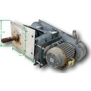 conveyor drive screw shaft used belt link mounted speed 5hp drives phase end volt reducer mount shafts stub jmindustrial