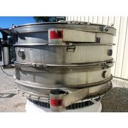 "Used 100"" Kason Vibratory Two Deck Separator Screener Sifter Model K100-AD-SS"