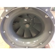 "5,521 CFM @ 4.5"" SP Unused Loren Cook inline centrifugal fan 165 QMX44P"