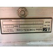 "Used 12"" Salina Vortex MSC12 Maintenance Slide Gate manual Valve"