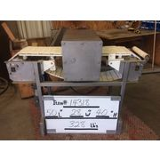 Used Stainless Steel Loma Systems Metal Detector with Conveyor