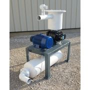 Used 10 HP Roots 59 U-RAI Vacuum Blower Package