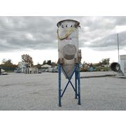 Used Young Industries Stainless Steel Dust Collector, 75 SQ FT, 500 CFM