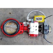 "Used Bray 6"" Wafer Butterfly Valve - Automated"