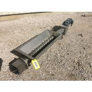 "Used 6"" Dia. X 64"" long Stainless Steel Screw Auger Feeder"