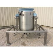 Used 190 Gallon Sanitary Batch Weigh Stainless Steel Jacketed Tank