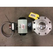 "Used 4"" Roto-Disc Spherical Dome Valve 8513-01"