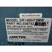 Used 20 HP Ametek Rotron Regernerative Blower DR14 [PARTS]