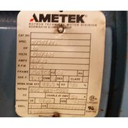 Used 20 HP Ameteck Rotron Regerative Blower DR14