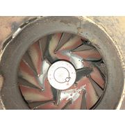 "Used 2,100 CFM @ 12"" SP Ancaster Centrifugal Fan Baghouse Blower"