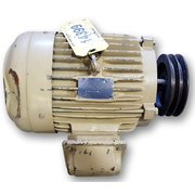 Used TECO Westinghouse 7.5 HP Motor, 213T Frame [3515 RPM]