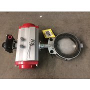 "Used 6"" Dia Bray Butterfly Valve - Stainless Steel"