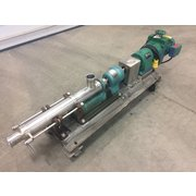 Used Robbins & Myers Moyno 2 HP Progressing Cavity Stainless Steel Pump 2FGJ4 SS