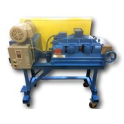 Used 2 HP Sturtevant Portable Roll Crusher 8X5