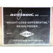 "Used Acrison 2-1/4"" Weight Loss Differential Powder Feeder - Model 403"