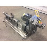 Used Robbins & Myers Moyno 3 HP Progressing Cavity Stainless Steel Pump