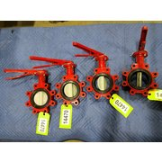 "Unused 4""Ø Bray Series 31 Butterfly Valves - Lot of 4"