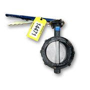 "Used 6""Ø Nibco Wafer Style Butterfly Valve - WD 3000 Series"