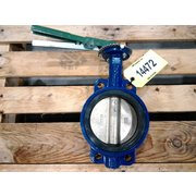 "Used 6""Ø Nibco Wafer Style Butterfly Valve - N 200 Series"