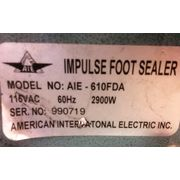 Used Impulse Foot Heat Sealers (PARTS) - Model AIE-610FDA
