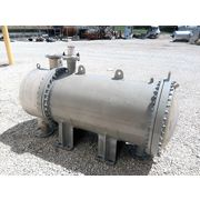 Used Doyle & Roth Shell & Tube Heat Exchanger, 624 ft2, 6 Pass