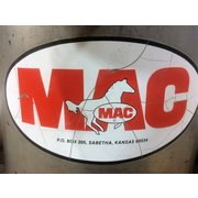 Used MAC Stainless Steel Inline Absolute Air Filter Housing