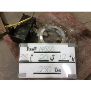 "Used 12"" Keystone 316 Stainless Steel Butterfly Valve"