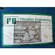 "Used 8"" Inline Absolute Air Filtration Engineering Inlet Filter CSL-335"