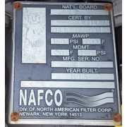Used Stainless Steel Nafco Filter