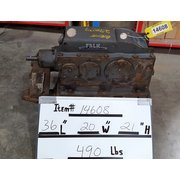 Used 5 HP Falk Enclosed Gear Drive 2050YB3-S [43:1 ratio]