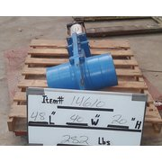"Used Allen Sherman Hoff ASHvac 8"" segregating Knife Gate valve"