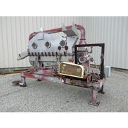 "Used 6"" wide x 6' long Stainless Steel Vibratory Fluid Bed Dryer / Cooler"