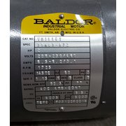Used 2HP Baldor Gear Motor [4:1 ratio]
