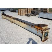 "Used 16""dia X 22' long Industrial Screw Auger Conveyor"