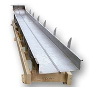 "Used Cardwell Vib-o-vey 24""W X 26' L Stainless Steel Vibrating Shaker Conveyor"