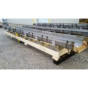 "Used Cardwell Vib-o-vey 24""W X 27' L Stainless Steel Vibrating Shaker Conveyor"
