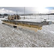"Used Cardwell Vib-o-vey 24"" x 32'-10""L Stainless Steel Vibrating Shaker Conveyor"
